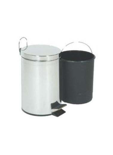 Emre Züccaciye Emr Çelik Metal Paslanmaz Pedallı Çöp Kovası 3 Lt. Renkli